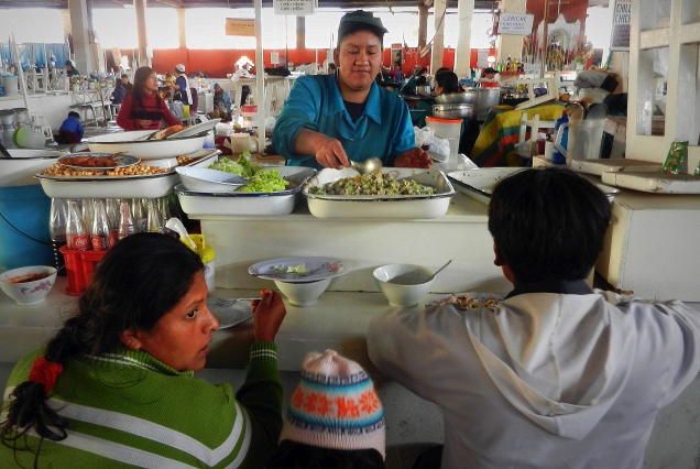 Peruwiańskie sushi je się wszędzie i o każdej porze dnia.