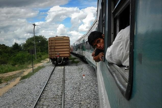 Pociąg śmierci na skraju boliwijskiej dżungli