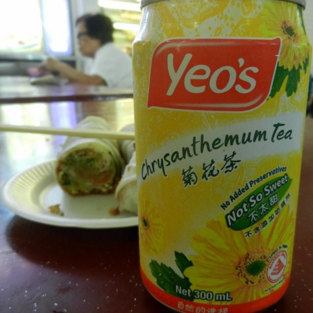Herbata chryzantemowa smakuje najlepiej, gdy jest dobrze schłodzona
