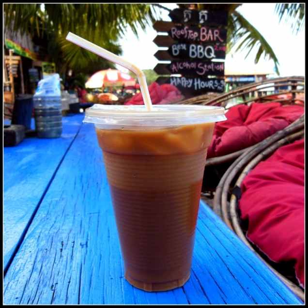 Lodowa kawa - siekiera