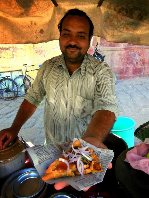 Pan Samosa z Jodhpuru